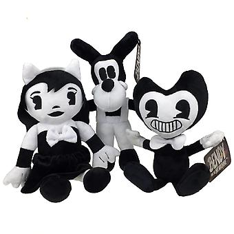 Cute Bendy Cartoon, Peluche Peluche Lupo Boris - Angel Alice Kids Dolls
