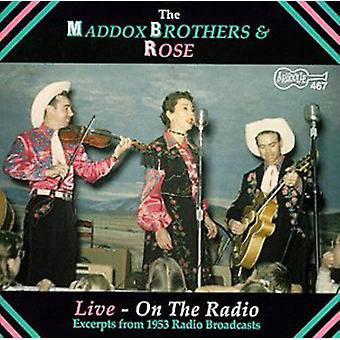 Maddox Brothers & Rose - Live-on the Radio [CD] USA import