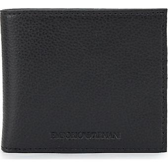 Armani Grain Leather Billfold Wallet