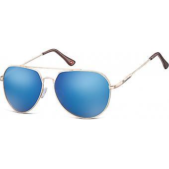 Sunglasses Unisex Aviator gold (MS90F)