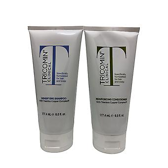 Tricomin Clinical Densifying Shampoo & Reinforcing Conditioner Set 6 OZ Each
