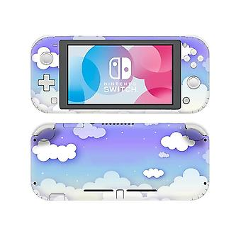 White Cloud Printed-vinyl Sticker For Nintendo Switch Lite
