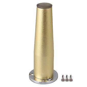 120mm korkeus säädettävä alumiini seos huonekalut sohva jalka kultainen
