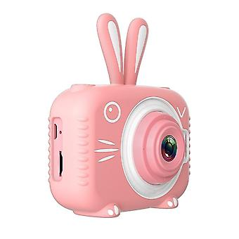 Kids Photo Camera With Cartoon Protective Case Mini Digital Camera For Girls And Boys