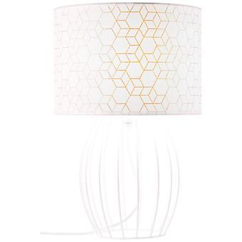LUZ interior de la lámpara de la mesa de la galance de lana de la base, luces de la mesa,-decorativo - 1x A60, E27, 40W, adecuado para lámparas normales