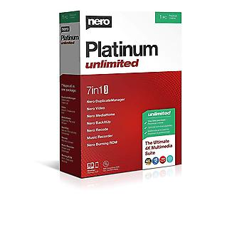 Nero Platinum Unlimited PC Software