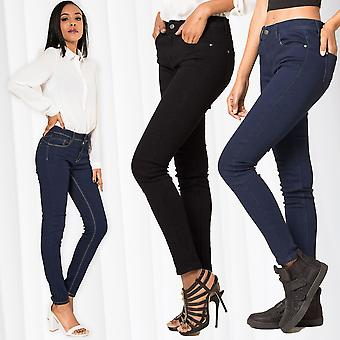 Woman Jeans Skinny Fit Push Up Stretch Casual Chic Stijlvolle Look Sexy Style