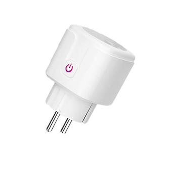 Smart Plug Wifi Socket Power Monitor, Timing Function Works With Alexa, Google