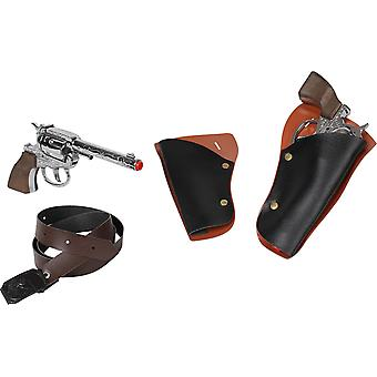 CAP GUN - 148/0 - Gonher Double 101/0 Revolver