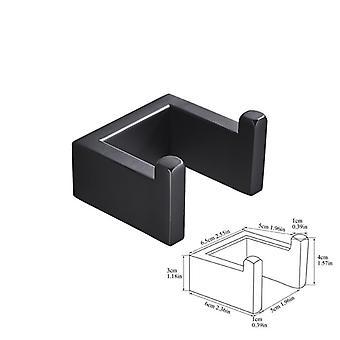 Bathroom Hardware Set, Robe Hook Towel Rail Bar, Shelf Tissue Paper Holder