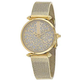 Just Cavalli Women's Animalier Gold Dial Watch - JC1L085M0065