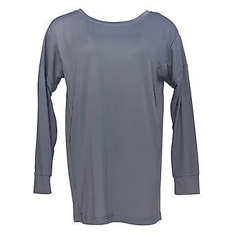 Carole Hochman Women's Pajama Top Feather Soft Jersey Lounge Gray A381870