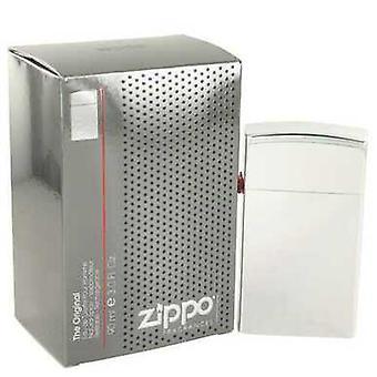 Zippo Silver By Zippo Eau De Toilette Refillable Spray 3 Oz (men) V728-491518