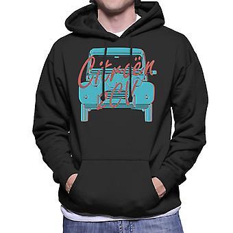 Citro?n 2CV Graphic Style Men's Hooded Sweatshirt