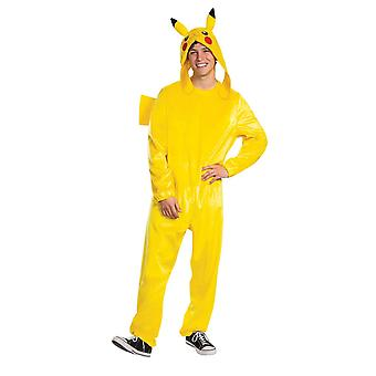 Mens Pikachu Deluxe Costume