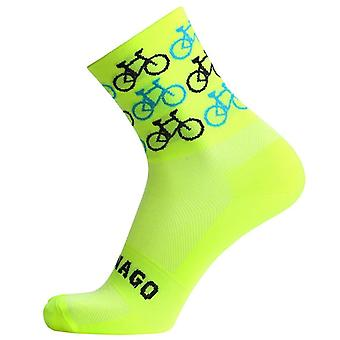 Calitate Professional Brand Sport Pro Ciclism Șosete confortabile Biciclete rutiere