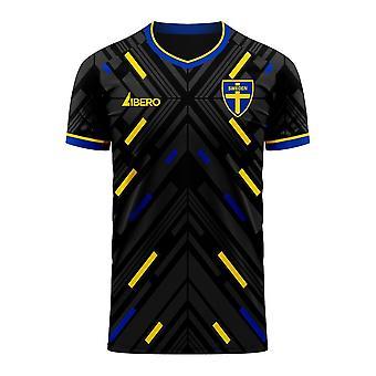 Suède 2020-2021 Away Concept Football Kit (Libero)