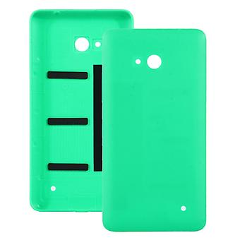 متجمد سطح البلاستيك الغطاء السكني الخلفي لمايكروسوفت Lumia 640 (الأخضر)
