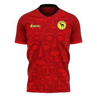 Angola 2020-2021 Home Concept Football Kit (Libero)