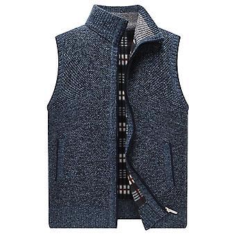 Men's Sweater Vest Fashion Japan Style Streetwear Sleeveless Vest Sweater Coat