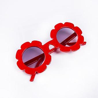 لطيف الصيف طفل الأطفال النظارات الشمسية، إطار بلاستيكي، نظارات الزهور نظارات