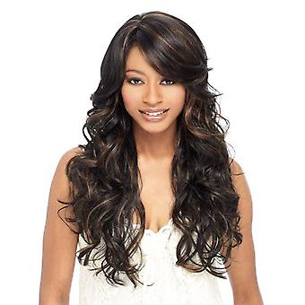 Women's Wig Women's Fashion Realistic Natural Chemical Fiber Realistic Long Curly Wig Head Cover