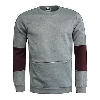 Adidas Ağır Mürettebat Sweatshirt Core Uzun Kollu Jumper Gri AY8720 UA126