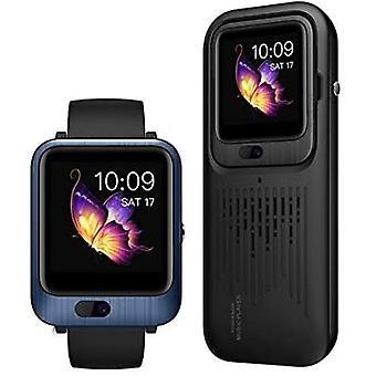 Lemfo LEM11 3-in-1 Smartwatch + Wireless Speaker / Powerbank iOS Android - 32GB - Blue