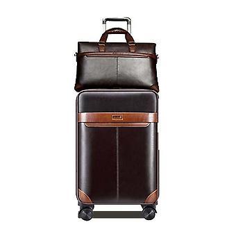 Miesten liiketoiminnan rullaavat matkatavarat setti