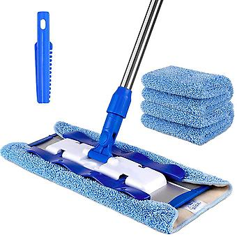 MR.SIGA Professional Microfibre Mop for Hardwood, Laminate, Tile Floor Cleaning