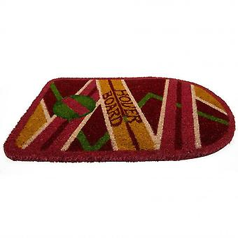 Back To The Future Hoverboard Door Mat