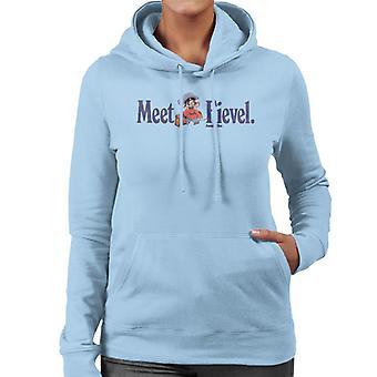 Ein amerikanischer Schwanz Treffen Fievel Mousekewitz Frauen's Kapuzen Sweatshirt
