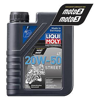 Liqui Moly 4 Stroke Mineral Street 20W-50 1L - #1500