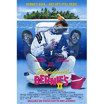 Helgen på Bernies 2 film plakatutskrift (27 x 40)