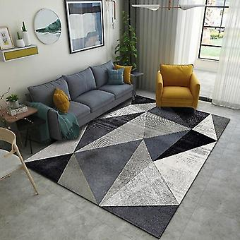 Geometric Printed Carpet Rug For Living Room Washable Bedroom Large Area Modern