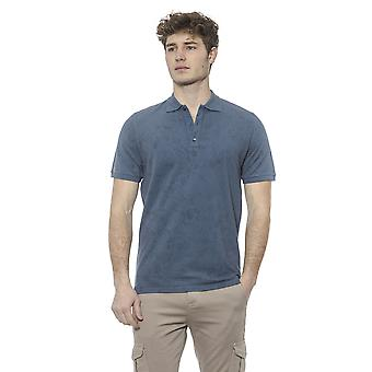 Polo Blue Alpha Studio Men