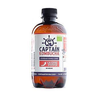 Lemon Tea and Cayenne Pepper Kombucha Drink Bio 400 ml