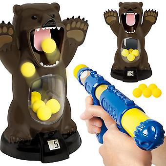 Shooting Toys For Kids,dinosaur Target Shooting Games Toy With Soft Foam