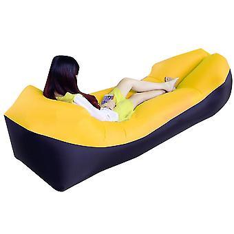 Sofa gonflable portatif d'air de chaise longue