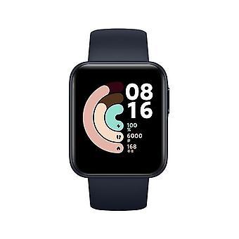 Xiaomi Smart Watch Lite -Sort- 1,4 tommer touch screen, 5ATM vandafvisende, 9 dages batterilevetid, GPS, 11 sportstilstand, skridttæller, søvn og pulsmåler, fitness tracker, aktivitet tracker-blå