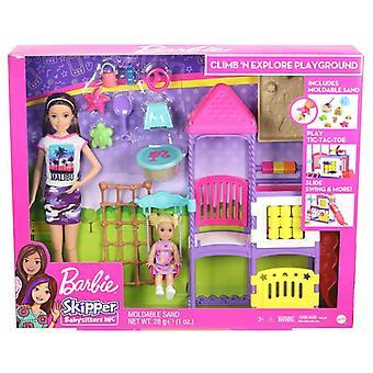 Barbie skipper barnevakt spille scene