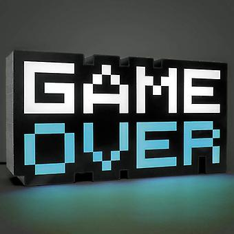 Game Over Sign Voice Control Game Icon Light