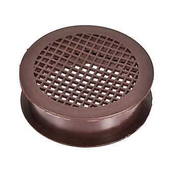 Round Mesh Hole Air Vents Plastic Soffit Cover For Cupboard Shoebox