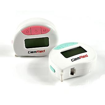 Digital measuring tape accurately measures body part circumferences display records results measurements