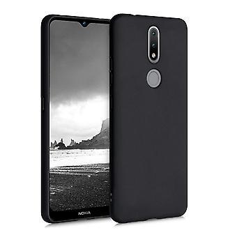 Nokia 2.4 - Matt TPU Soft Shell - Musta