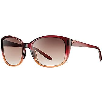 SMITH Lookout 7K C54 57 Sunglasses, Brown (Scarlet Fade/Brown Shaded), Woman
