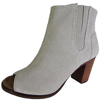 Toms Womens Majorca Peep Toe Boot Shoes