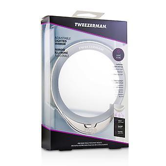 ツィーザーマン調節可能な照明付き鏡