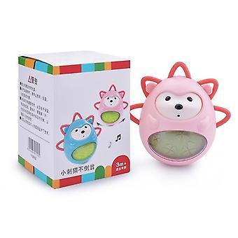 Musique Tumbler Baby Teether Cloches intégrées À manivelle Toy