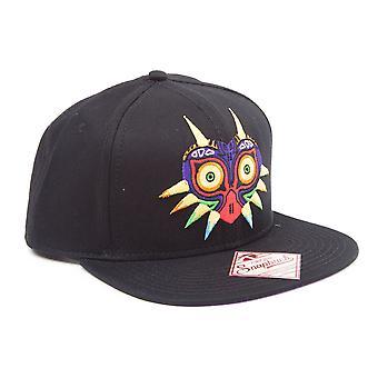 Nintendo - Majora'S Mask Unisex One Size Cap - Black